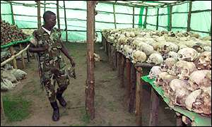 More than half a million died in the Rwandan genocide