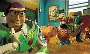 The cast of Toy Story 2