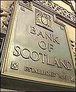 Bank of Scotland plaque