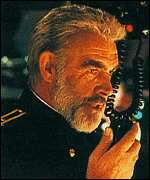 Connery in Hunt for Red October