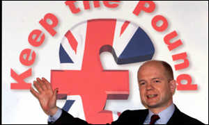 William Hague, Keep the Puund campaign