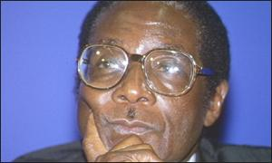 Robert Mugabe via BBC website.