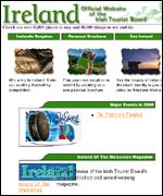 Irish Tourist Board website