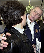George W Bush and voter