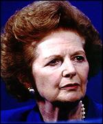 [ image: Mrs Thatcher - a formidable enemy]