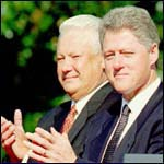 [ image: Boris Yeltsin and Bill Clinton in September 1994]