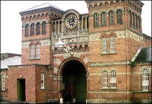 image: [ Broadmoor psychiatric hospital is one of three the NHS recommends should close ]