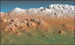 In 3-D: The Kamchatka peninsula in Russia