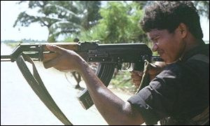 tamil tiger with gun