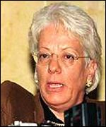 Ms del Ponte wants justice for genocide victims