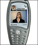 New Nokia mobile phone showing picture of the person who is calling you