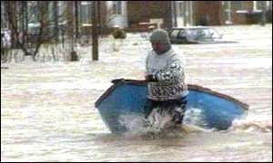 Towyn flood