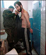 Video photo of torture by Chechens