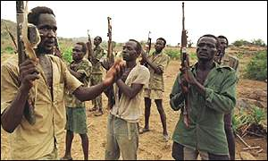 Bbc news africa aid agencies quit southern sudan aid agencies quit southern sudan spla soldiers sciox Images