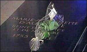 Marie Antoinette's grave