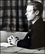 Edward broadcasting in 1935
