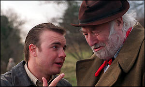 Gary Barlow and Bill Maynard