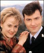 Niamh Cusack and Nick Berry