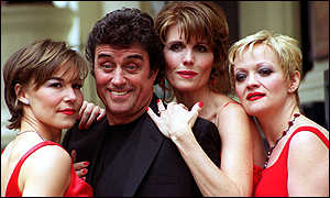 Witches of Eastwick stars Joanna Riding, Ian McShane, Lucie Arnaz and Maria Friedman
