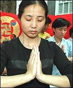 Falun Gong: Banned movement
