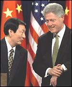Clinton and Chinese premier