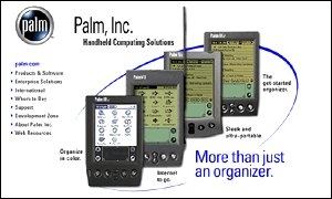 Palm's handheld devices