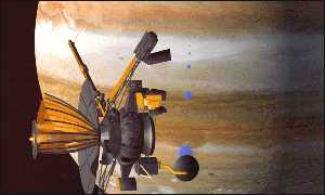 Galileo has explored the Jovian region since 1995