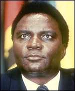 Former Rwandan President Juvenal Habyarimana