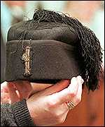 Italian dictators hat at auction