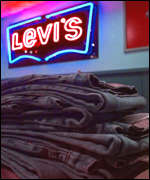 Stack of Levis