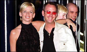 Fat Boy Slim and his wife Zoe Ball