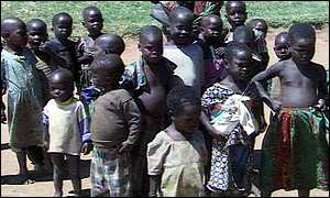Children are also vulnerable to LRA kidnappers