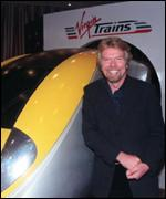 Richard Branson already operates two train franchises
