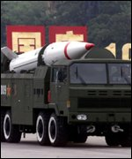 Dongfeng 31 long-range missile