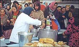 Grozny soup kitchen