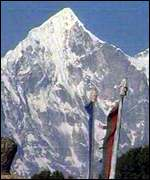 Mount Everest - the world's highest peak