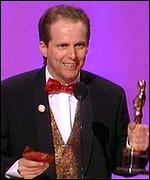 Nick Park at the 1996 Oscars