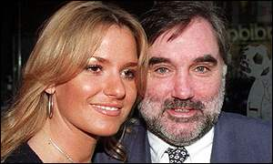 George Best and wife, Alex.
