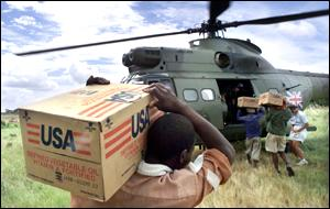 Mozambique aid effort