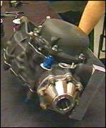 Xtrac gearbox