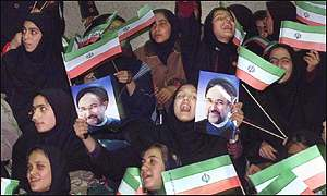 Khatami supporters