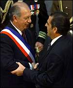 Ricardo Lagos and Eduardo Frei