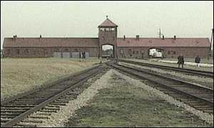 Entrance to Auschwitz-Burkenau