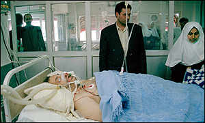 Saeed Hajjarian in hospital