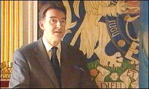 Peter Mandelson was speaking at Hillsborough castle
