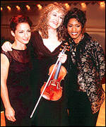 Meryl Streep, Gloria Estefan and Angela Bassett