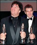 Almodovar and Antonia Banderas