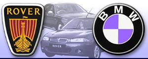Rover - BMW graphic