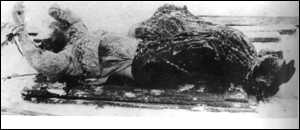 Rasputin s corpse was dragged from under the ice
