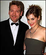 Kenneth Branagh and Alicia Silverstone